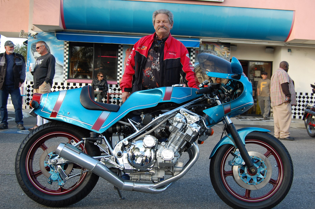 Phil Tabor with his 1980 Moto Martin CBX