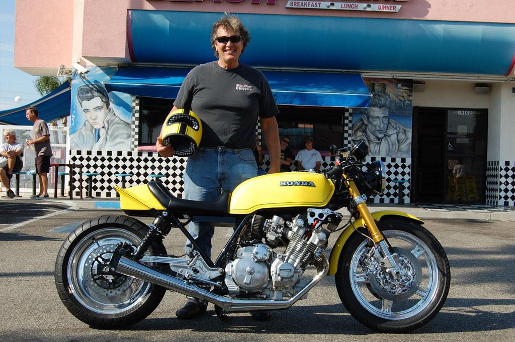 Garry Lieser and his 1979 custom Honda CBX